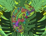 Maria Fedak kameleon w dzungli2